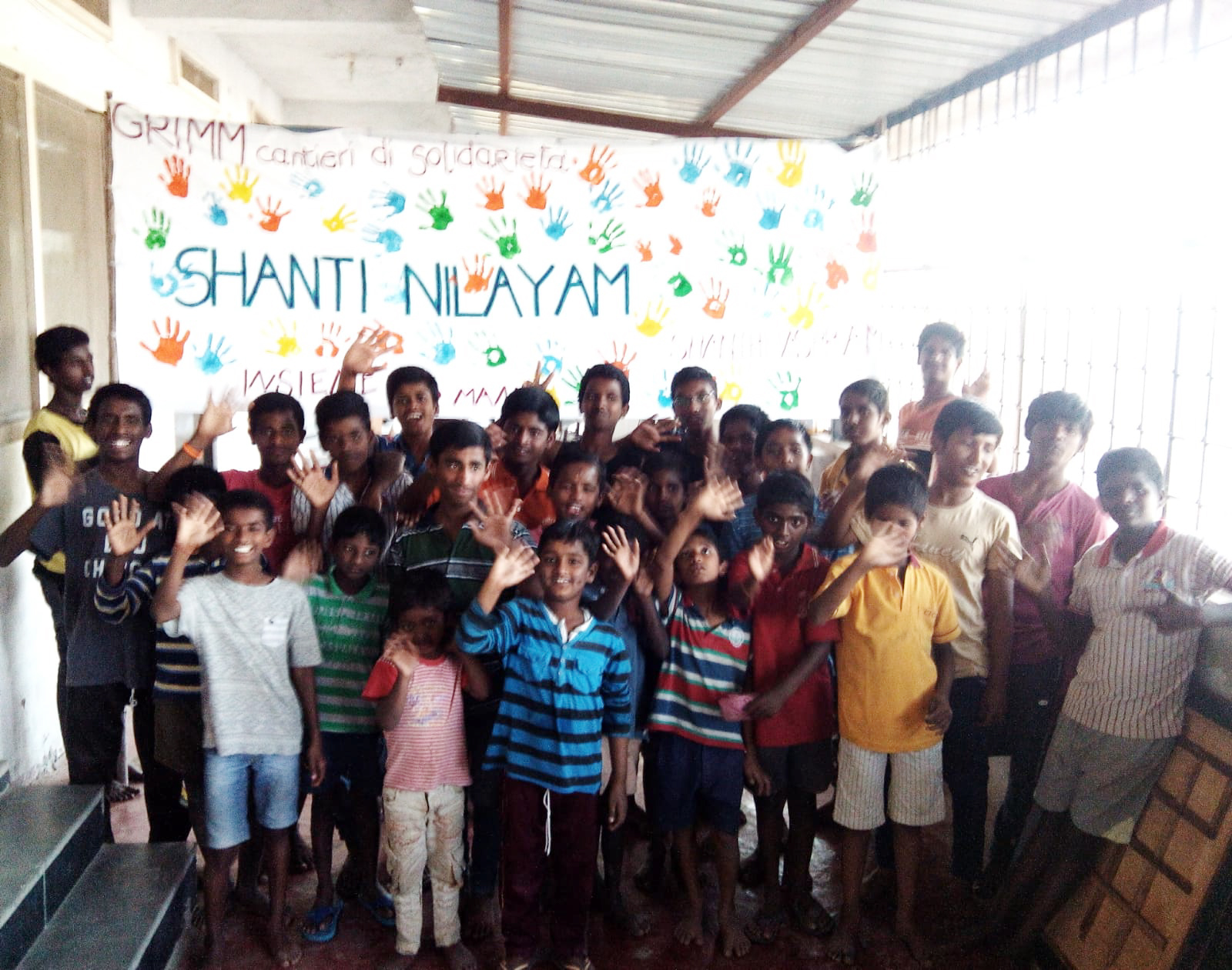 Hyderabad – Costruzione orfanotrofio